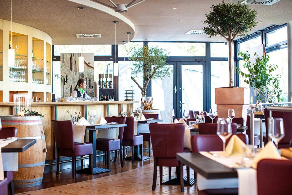Wintergarten.Restaurant im Parkhotel Ahrbergen
