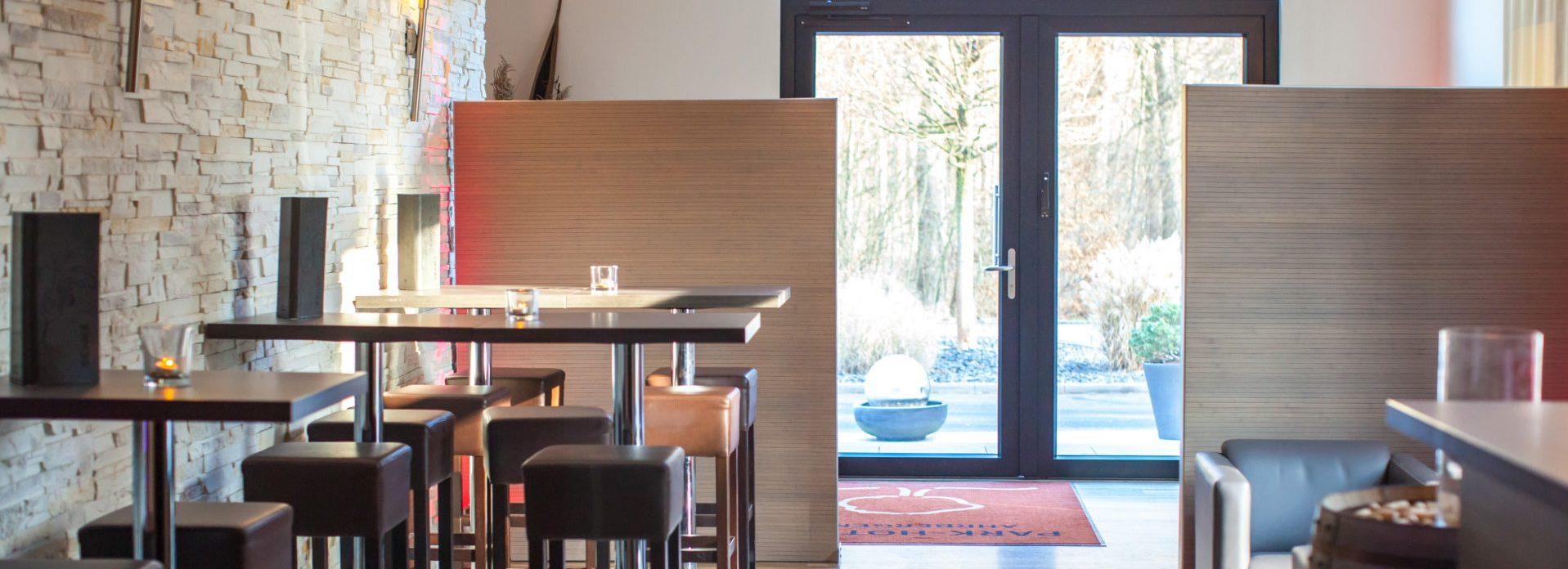 Unser gemütliches Café im Brasserie-Stil