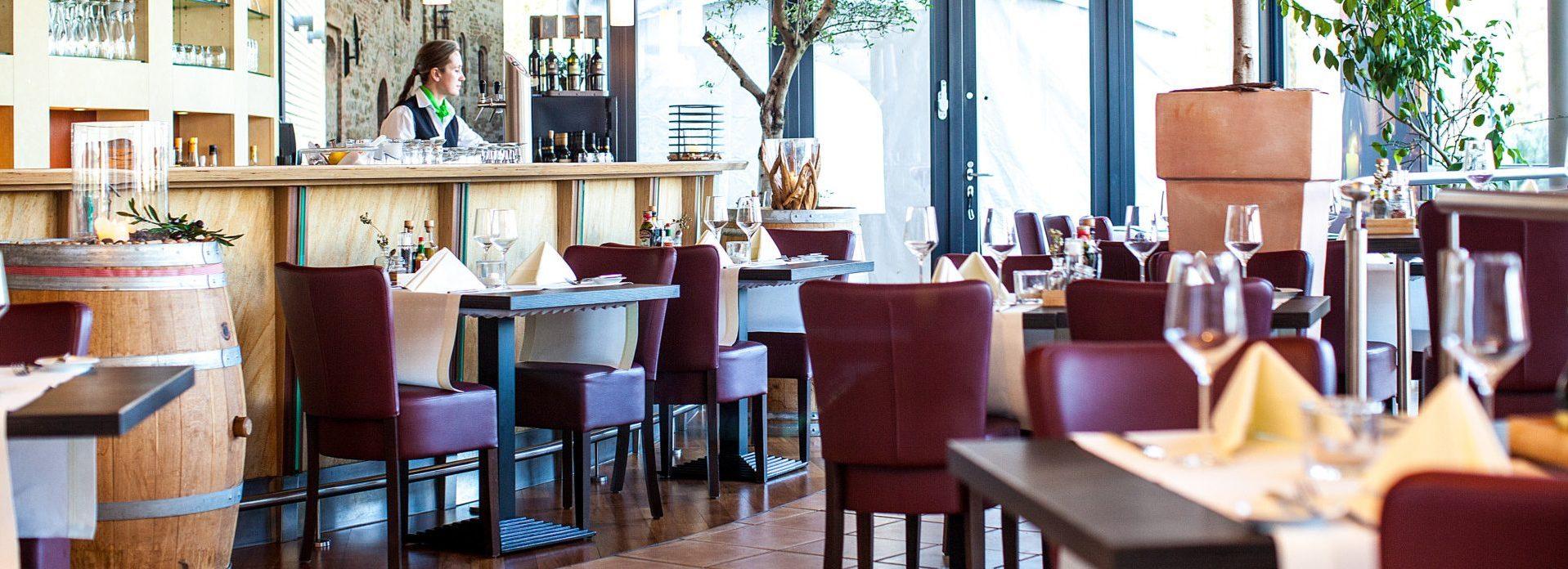 Genießen mit Aussicht im Wintergarten.Restaurant